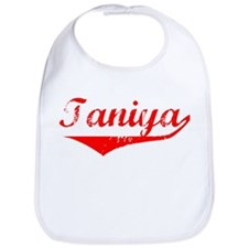 Taniya Vintage (Red) Bib
