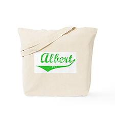 Albert Vintage (Green) Tote Bag