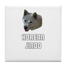 Korean Jindo Tile Coaster