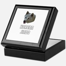 Korean Jindo Keepsake Box