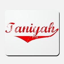 Taniyah Vintage (Red) Mousepad