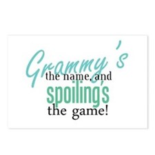Grammy's the Name, and Spoiling's the Game! Postca