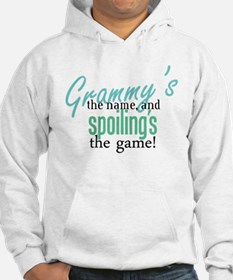 Grammy's the Name, and Spoiling's the Game! Jumper Hoodie