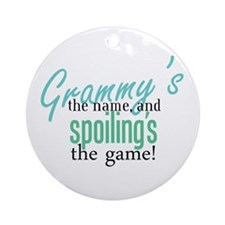 Grammy's the Name, and Spoiling's the Game! Orname