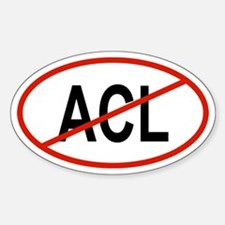 ACL Oval Decal