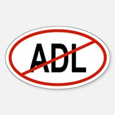 ADL Oval Decal