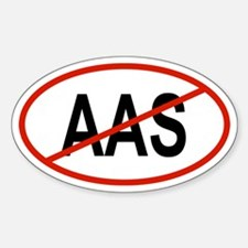 AAS Oval Decal