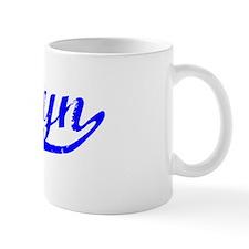 Sherlyn Vintage (Blue) Coffee Mug