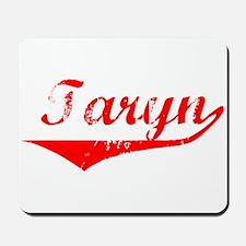 Taryn Vintage (Red) Mousepad