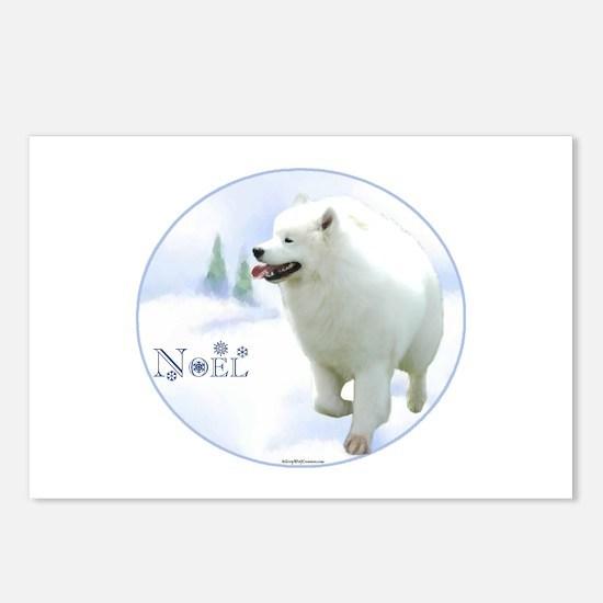 Samoyed Noel Postcards (Package of 8)
