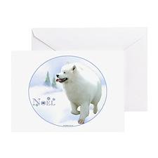 Samoyed Noel Greeting Card