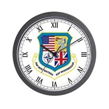 RAF Woodbridge / RAF Bentwaters Wall Clock