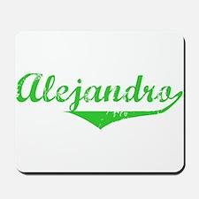 Alejandro Vintage (Green) Mousepad