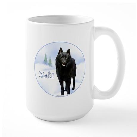 Schipperke Noel Large Mug