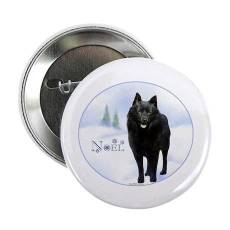 """Schipperke Noel 2.25"""" Button (100 pack)"""