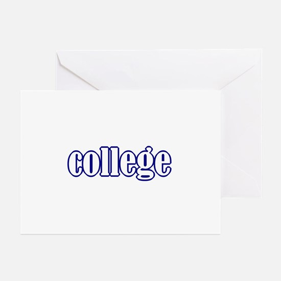 college Greeting Cards (Pk of 10)
