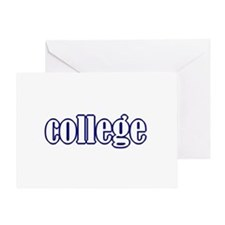 college Greeting Card