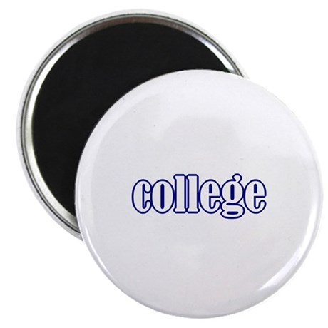 """college 2.25"""" Magnet (10 pack)"""