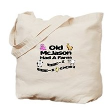 Old McJared Had a Farm Tote Bag