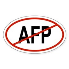 AFP Oval Decal