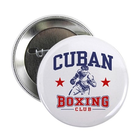 "Cuban Boxing 2.25"" Button"