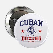 """Cuban Boxing 2.25"""" Button"""