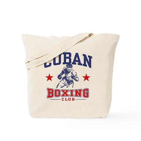 Cuban Boxing Tote Bag