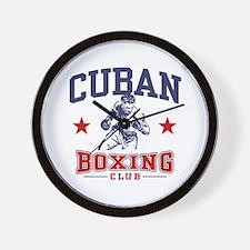 Cuban Boxing Wall Clock