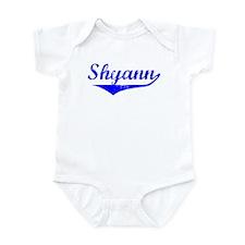 Shyann Vintage (Blue) Infant Bodysuit