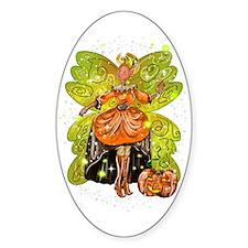 Hallie Sticker (Oval)
