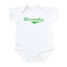 Alexandro Vintage (Green) Infant Bodysuit