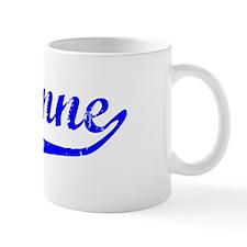 Shyanne Vintage (Blue) Coffee Mug