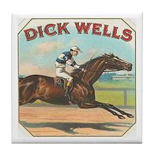 Dick Wells Tile Coaster