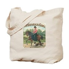 Nebraska Girl Tote Bag
