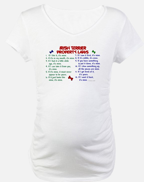 Irish Terrier Property Laws 2 Shirt
