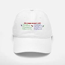 Irish Terrier Property Laws 2 Baseball Baseball Cap