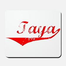 Taya Vintage (Red) Mousepad