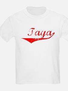 Taya Vintage (Red) T-Shirt