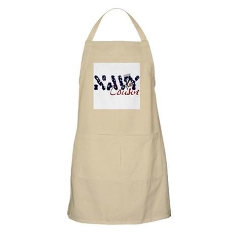 Navy Cousin BBQ Apron