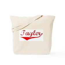 Tayler Vintage (Red) Tote Bag