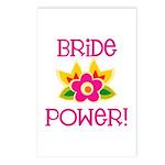 Bride Power Postcards (Package of 8)