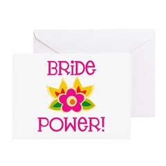 Bride Power Greeting Cards (Pk of 10)