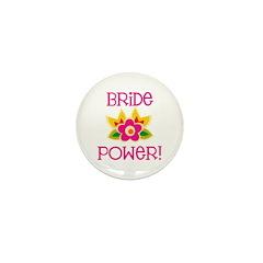 Bride Power Mini Button (10 pack)