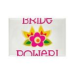 Bride Power Rectangle Magnet (100 pack)