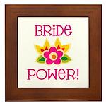 Bride Power Framed Tile