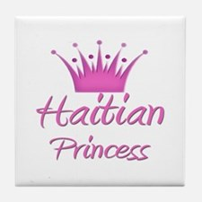 Haitian Princess Tile Coaster
