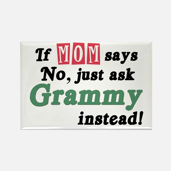 Just Ask Grammy! Rectangle Magnet