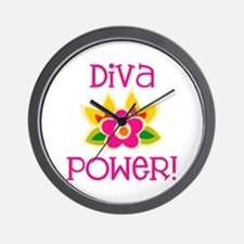 Diva Power Wall Clock