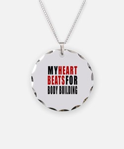 My Hear Beats For Body Build Necklace