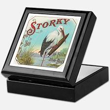 Storky Keepsake Box